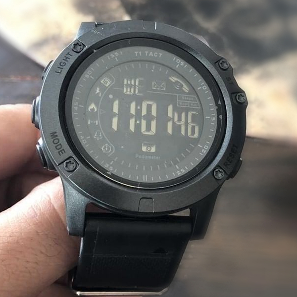 T1 Tact Watch, actual smartwatch photo